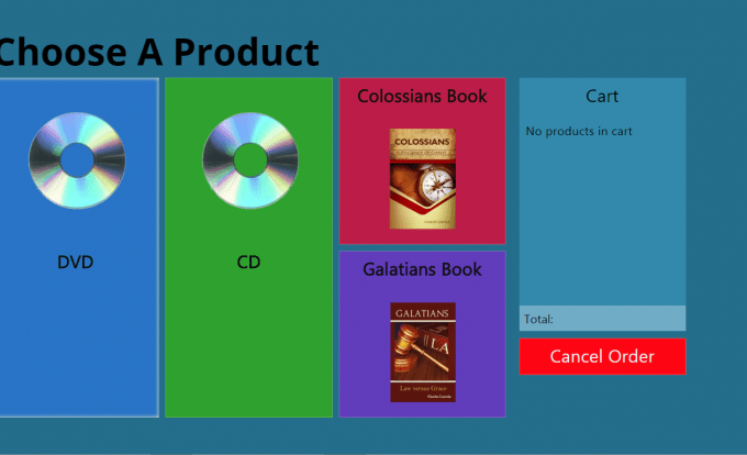Choose A Product