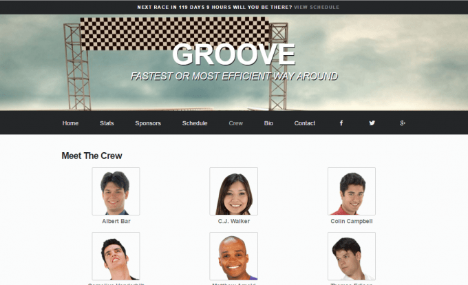 Groove Crew Page