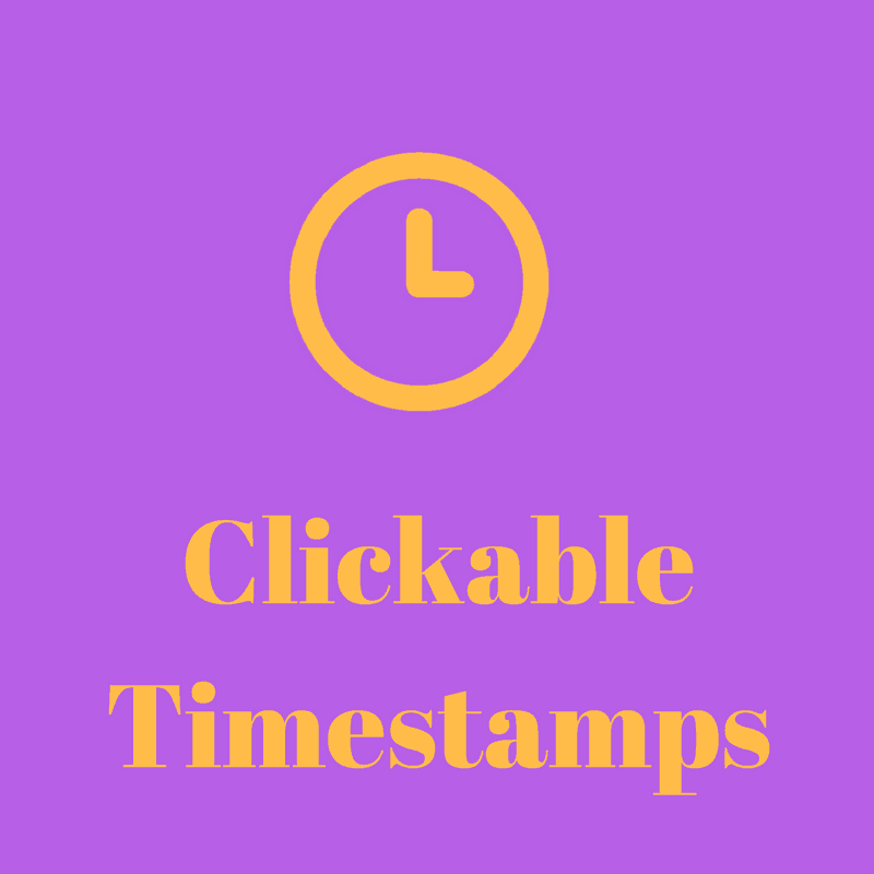 4 Ways To Add Clickable Time Stamps - Pintop Solutions
